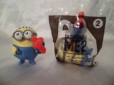 Disney Dispicable ME McDonals lot of 2 Phil meal toys for play or cake topper