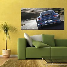 PORSCHE 911 TURBO CARRERA S 991 LARGE AUTOMOTIVE HD POSTER 24x48 in