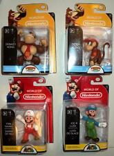 """WORLD OF NINTENDO OFFICIAL LICENCED COMPLETE SET 2.5"""" STATUES x 4 FIGURES MISB"""