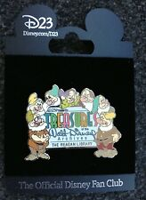D23 Treasures of the Walt Disney Archive Pin Snow White and the Seven Dwarfs