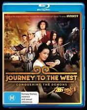 Journey To The West - Conquering The Demons Blu Ray New/Sealed Region B