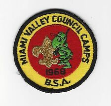 BOY SCOUT  MIAMI VALLEY COUNCIL CAMPS  1968 PP     OHIO