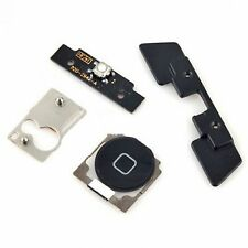 NEW Replacement Black Home Button Flex Cable With Seal & Bracket For iPad 2