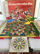1974 HOMESTRETCH BOARD GAME, MILTON BRADLEY BOARD GAME HORSE RACING Springy Legs