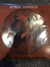 ROBERT JOHNSON 'KING OF THE DELTA BLUES SINGERS' PICTURE DISC LP VINYL BRAND NEW