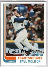 2004 Topps All Time Fan Favorites Paul Molitor