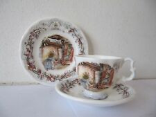 Royal Doulton Brambly Hedge Miniature Winter Trio Cup & Saucer