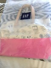 NEW KATE SPADE GAP KIDS PRINTED CANVAS COTTON TOTE SCHOOL LEISURE 2014 RELEASE