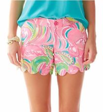 "NWT Lilly Pulitzer 5"" Buttercup Shorts Size 0 Multi All Nighter"