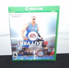 (NEW SEALED) EA SPORTS NBA LIVE 16 XBOX ONE VIDEO GAME SPORTS (2016)