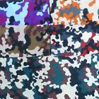 Army Camouflage Polycotton Fabric