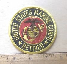 United States Marine Corps Retired Embroidered Patch