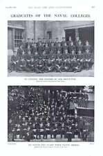 """1901 Naval collegi Cadets keyham Engineering """"BRITANNIA"""""""