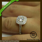 2.44CT ROUND CUT DOUBLE HALO ENGAGEMENT RING 14K YELLOW GOLD NOW ON SALE!