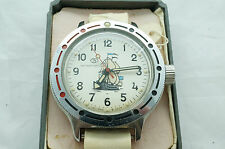 Vintage CCCP Russian Soviet VOSTOK AMPHIBIAN Watch 1992 , New Old Stock