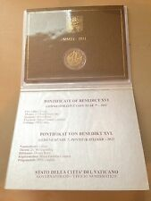 2011 vatican 2 euro commemorative pope benedict XVI new in folder uncirculated