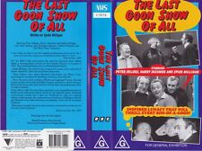 THE LAST GOON SHOW OF ALL WRITTEN BY SPIKE MILLIGAN VHS PAL VIDEO~A RARE FIND