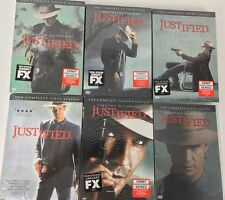JUSTIFIED: Complete Series Seasons 1 2 3 4 5 6 (DVD,18-Disc Set) New Sealed
