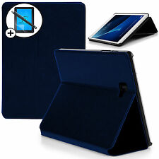 Blue Smart Case Cover Samsung Galaxy Tab A 10.1 SM-P580 S Pen Scrn Prot Stylus
