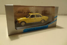 Mercedes-benz W 123 sedán 200 d Yellow/trigo amarillo Minichamps 1:43