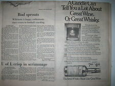 Louisville Courier Journal 9-1-1978. Old Forester Whisky Ad!