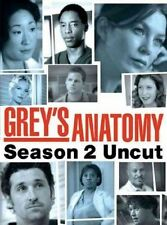 DVD - TV Series - Drama - Grey's Anatomy - Season 2: Uncut - Patrick Dempsey