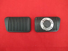 FORD CLUTCH AND BRAKE PEDAL PAD KIT SUIT XR XT XW XY XA GT GS POWER DISC BRAKES