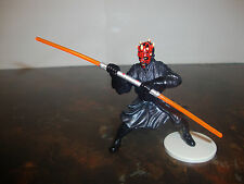 "Star Wars---Episode-1---Darth Maul---With Dual Lightsaber---3"" Tall---1999"