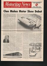 N°6073 / dépliant journal automobile CLAN   crusader   1972
