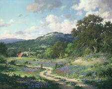 Hill Country Evening by Larry Dyke Landscape Open Edition Print