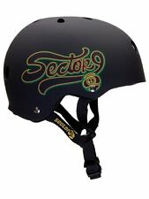 SECTOR 9 - Swift CPSC Skatehelm Black L/XL -  Skateboard Longboard BMX Scooter