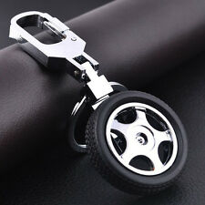 Holiday gift Creative 3D Tyre Alloy KeyRing Car Key Chain General Used Hot Sale