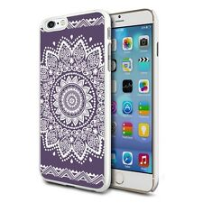 for Apple iPhone 4/4S - Viola MANDALA Custodia Cover posteriore rigida