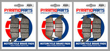 Honda ST 1100 ABS-TCS 92-95 Front & Rear Brake Pads Full Set (3 Pairs)