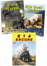 614 C&O 3 DVD Collection Encore Coal Trains & Revival Chesapeake & Ohio GSVP