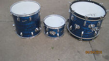 Rogers Swingtime Drums Blue Onyx Pearl 1964  Clevland one extra Tom  4 drums
