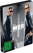 MEN IN BLACK II (Will Smith, Tommy Lee Jones) Blu-ray Disc, Steelbook NEU+OVP