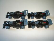 BLACK FORMULA 1 1990 MODEL CARS SET 1:87 H0 - KINDER SURPRISE PLASTIC MINIATURES