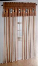 X-GAMES POP CULTURE WINDOW PANELS 3 PC CURTAINS & VALANCE SET NEW IN BAG