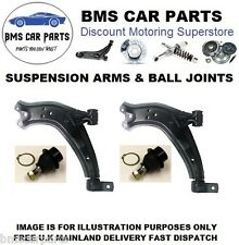 FORD TRANSIT CONNECT 02-11 2 X FRONT LOWER WISHBONES SUSPENSION ARMS+BALL JOINTS