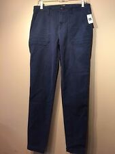 NWT Gap Women's Skinny ankle utility chinos, Night SIZE 6T 6 T    #242657