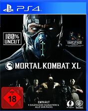 Mortal Kombat XL inkl. Pack 1+2  + COSPLAY PACK -  PS4