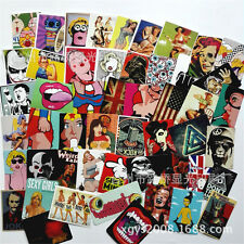 100 Pcs Sticker Bomb Decal Vinyl Roll for Car Skate Skateboard Laptop Luggage w/