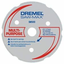 Dremel DSM500 Multipurpose Carbide Cutting Wheel/Disc/Blade DSM20 Saw-Max Tool