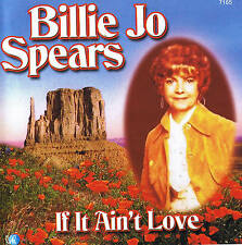 "BILLIE JO SPEARS ""If It Ain""t amo"" Top álbum! 16 Tracks CD"