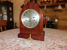 Amazingly Stunning Antique Junghan's Wurttemberg Mahogany Beehive Clock--1920!!!