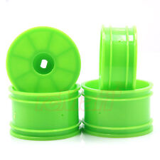 Kyosho Wheel Set Fluorescent Green Mini-Z MB-010 Inferno MP9 RC Cars #MBH002KG