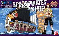 Bandai One Piece Grand Ship Collection SPADE PIRATES SHIP from Japan