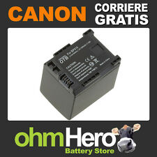 BP-819 Batteria Hi-Quality per Canon HIGH DEFINITION Legria HF G25, HF100