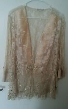 Women's Spencer Alexis Beautiful Open Front Top Size 2X  NWT!!! $118.00 Value